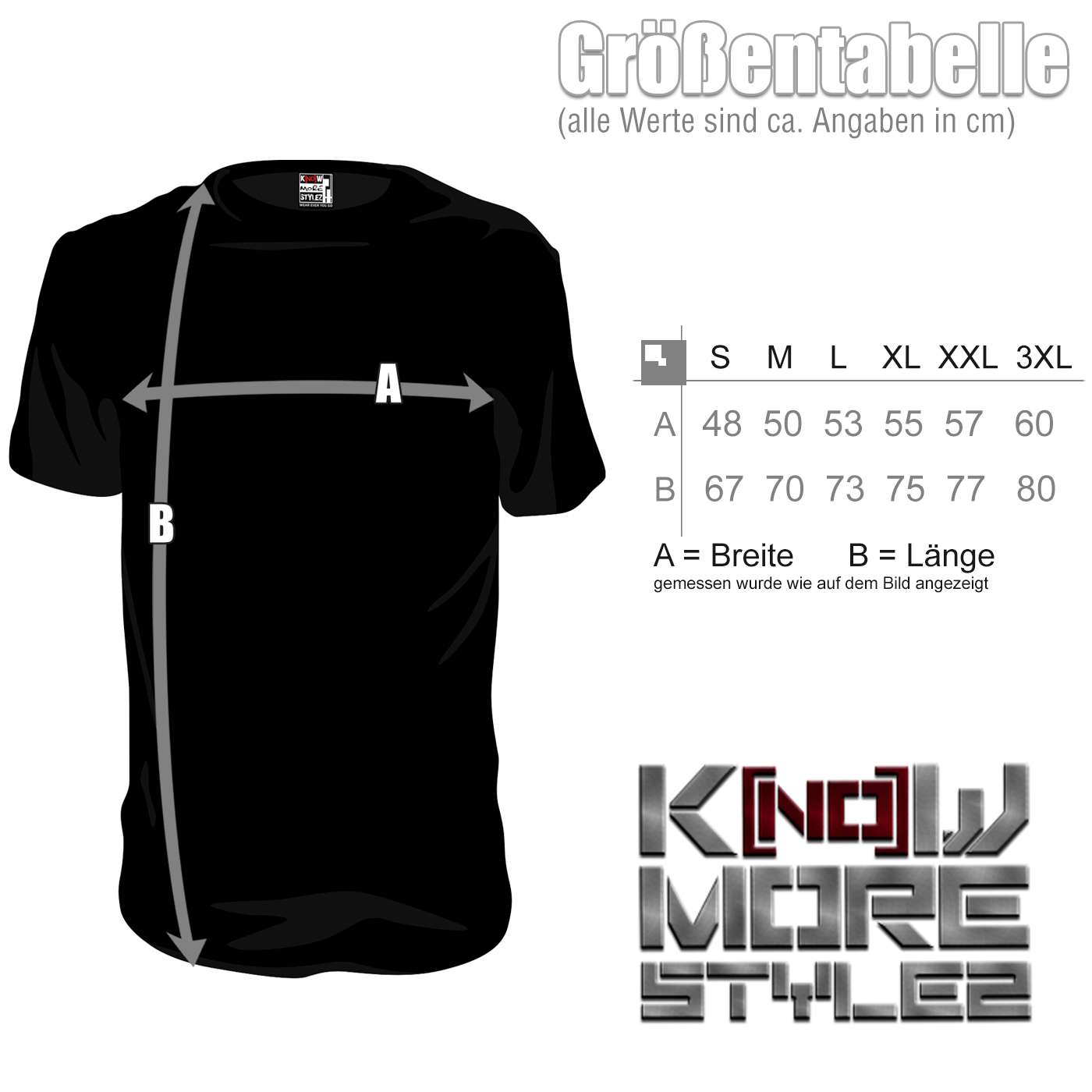 Größentabelle-Shirt-100HC,French,Terro